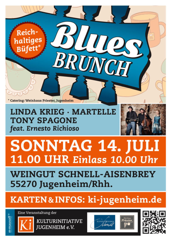 Blues Brunch Plakat